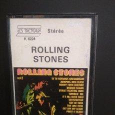 Cassette antiche: MONKEY´S POP GROUP - ROLLING STONES VOL. 2 CASSETTE CASETE- - PEPETO. Lote 218751440