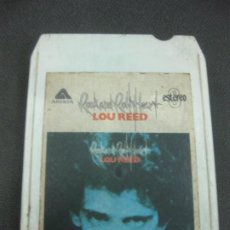 Casetes antiguos: CARTUCHO 8 PISTAS LOU REED, ROCK AND ROLL HEART. EMI 1976.. Lote 218772545