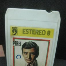 Casetes antiguos: CARTUCHO OCHO PISTAS PERET. DISCOPHON 1972. Lote 218792297