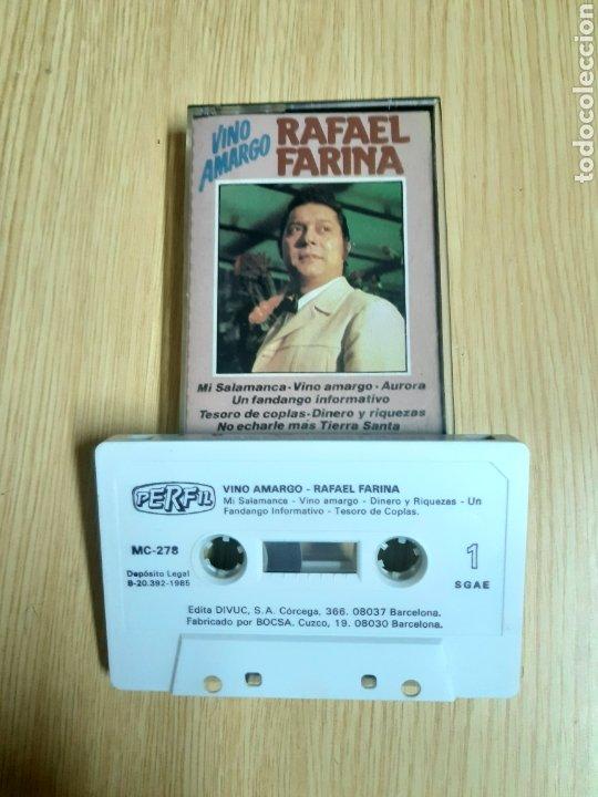 RAFAEL FARINA - VINO AMARGO (Música - Casetes)