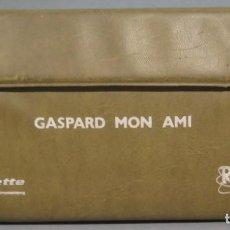 Cassette antiche: ESTUCHE CASSETTE. GASPARD MON AMI. CURSO FRANCES. Lote 218881781