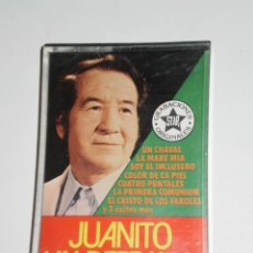 Casetes antiguos: CASETE ORIGINAL , JUANITO VALDERRAMA . GEMA-1 , S.A . AÑO 1980. Lote 218945081