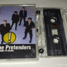 Casetes antiguos: CINTA CASSETTE THE PRETENDERS - LEARNING TO CRAWL. Lote 219073468