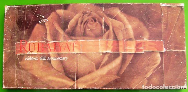 RUBAIYAT - ELEKTRA'S 40TH ANNIVERSARY - CAJA CON 2 CASETES Y LIBRO (Música - Casetes)