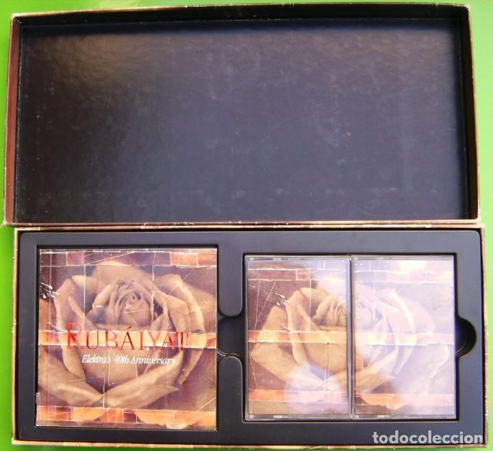 Casetes antiguos: Rubaiyat - Elektras 40th Anniversary - Caja con 2 casetes y libro - Foto 2 - 219452880