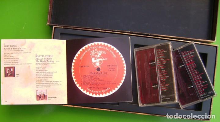 Casetes antiguos: Rubaiyat - Elektras 40th Anniversary - Caja con 2 casetes y libro - Foto 3 - 219452880
