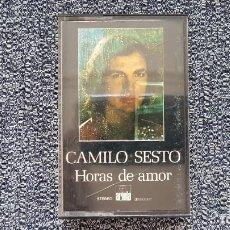 Casetes antiguos: CAMILO SESTO - HORAS DE AMOR. EDITADO POR ARIOLA. AÑO 1.979. Lote 219530582