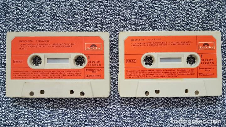 Casetes antiguos: Miguel Rios - Rock & Rios.(casete doble) editado por Polydor. año 1.982 - Foto 3 - 219533266