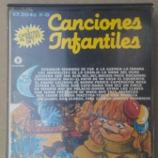 Cassetes antigas: CANCIONES INFANTILES FONOMUSIC 1986 2 CASSETTES EN ESTUCHE. Lote 219667707