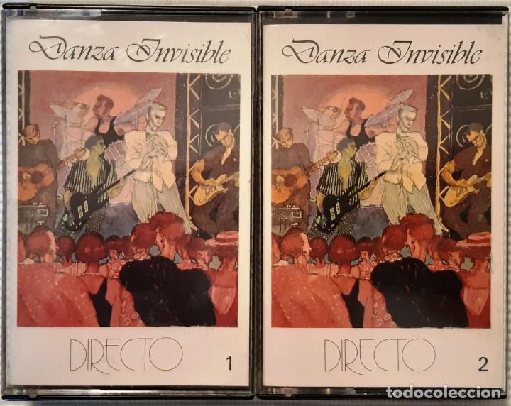 DANZA INVISIBLE - DIRECTO. DOBLE CASETTE - 1987 (Música - Casetes)