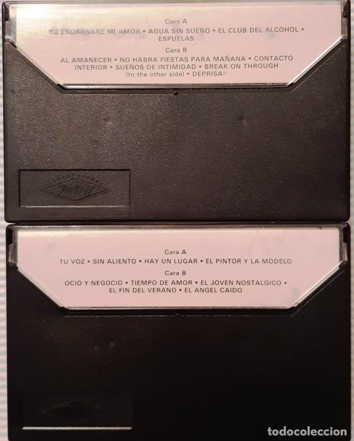 Casetes antiguos: DANZA INVISIBLE - DIRECTO. DOBLE CASETTE - 1987 - Foto 2 - 220099637