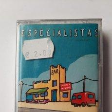 Cassette antiche: ESPECIALISTAS BASICO CASSETTE. Lote 220279472