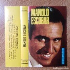 Cassette antiche: CASETE DE COPLA, CANCIÓN ESPAÑOLA. MANOLO ESCOBAR. BELTER. Lote 220662748