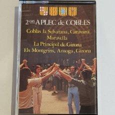 Casetes antiguos: 2ON. APLEC DE COBLES / MC - MIK MAK-1980 / IMPECABLE.. Lote 220678881