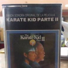 Cassette antiche: CASSETTE KARATE KID PARTE II - NUEVO!! PRECINTADO DE FÁBRICA!! SEALED OF FACTORY!!. Lote 221408080