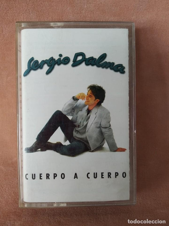 SERGIO DALMA - CUERPO A CUERPO - CARATULA DESPLEGABLE - MERCURY 1995 - CASETE (Música - Casetes)