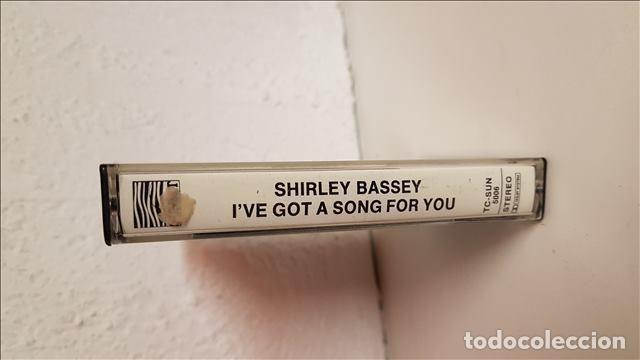 Casetes antiguos: cas Shirley Bassey , Ive Got A Song For You 1976 - Shirley Bassey - Foto 2 - 221513172