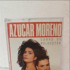 Casetes antiguos: CAS AZUCAR MORENO , CARNE DE MELOCOTON Y OTROS GRANDES 1992 - AZUCAR MORENO. Lote 221513047