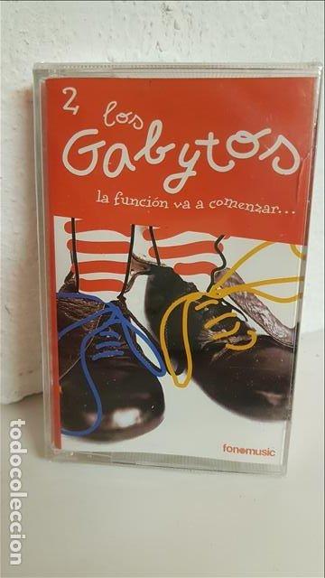 CAS LOS GABYTOS , LA FUNCION VA A COMENZAR , VOL 2 , 1999, NUEVO PRECINTADO - LOS GABYTOS (Música - Casetes)