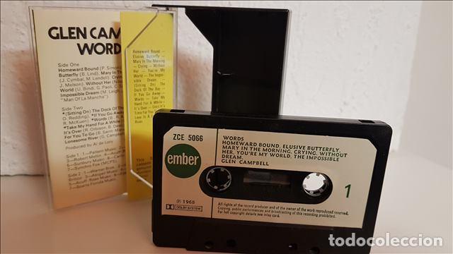 Casetes antiguos: cas Glen Campbell , Words 1973 - Glen Campbell - Foto 2 - 221513180