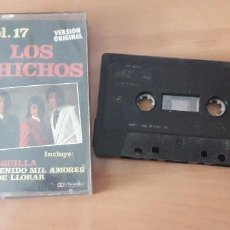Casetes antiguos: 14-00111-LOS CHICHOS VOL 17. Lote 221556830