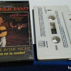 Casetes antiguos: CASET CINTA CASSETTE ( JOSE FELICIANO - ROMANCE IN THE NIGHT ) 1983 MOTOWN RECORD. Lote 221622833