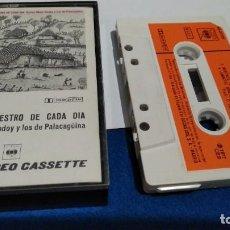 Casetes antiguos: CASETE CASSETTE ( CARLOS MEJÍA GODOY Y LOS DE PALACAGUINA - EL SON NUESTRO DE CADA DÍA ) 1977 CBS. Lote 221623223