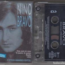 Casetes antiguos: NINO BRAVO CASSETTE ESTA SERÁ MI CASA Y OTROS GRANDES ÉXITOS 2002. Lote 221623323