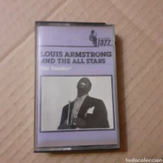 Casetes antiguos: LOUIS ARMSTRONG AND THE ALL STARS. OLD FAVORITES. ESPAÑA 1984.. Lote 221624135