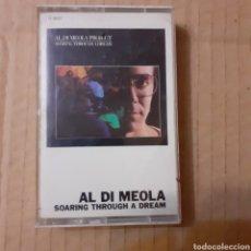 Casetes antiguos: AL DI MEOLA. SOARING THROUGH A DREAM. USA 1985.. Lote 221624423