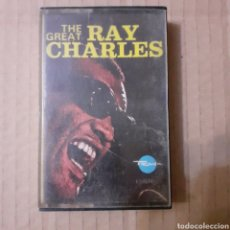 Casetes antiguos: THE GREAT RAY CHARLES. ESPAÑA 1972.. Lote 221626126