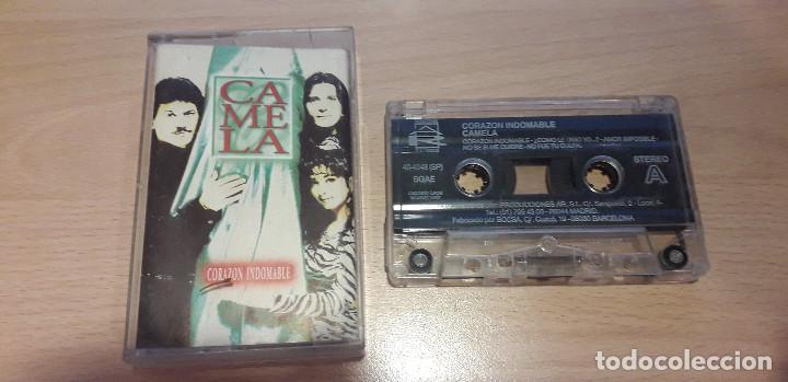 14-00118-CAMELA -CORAZON INDOMABLE (Música - Casetes)