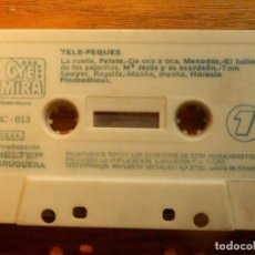 Casetes antiguos: CINTA CASSETTE - CANCIONES INFANTILES -TELE-PEQUES - OYE MIRA - BELTER BRUGUERA 1983. Lote 221697510