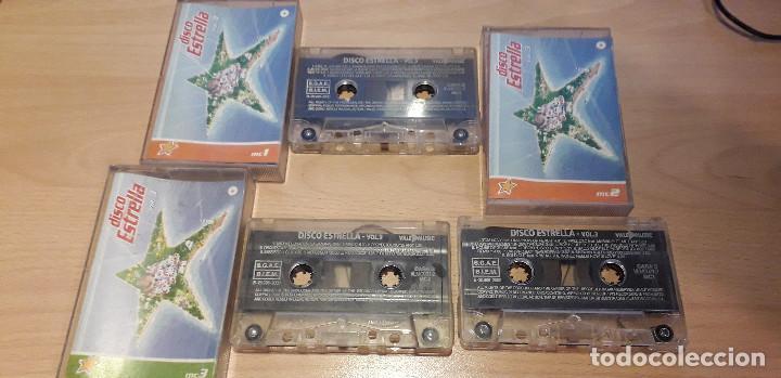 14-00126-27-28 - DISCO ESTRELLA VOL 3 - MC1 -2 Y 3 (Música - Casetes)