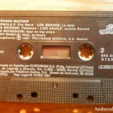 Casetes antiguos: CINTA CASSETTE - VERANOS MACIZOS - VARIOS ARTISTAS - POLYSTAR 1991. Lote 221713158