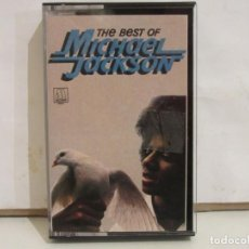 Casetes antiguos: MICHAEL JACKSON - THE BEST OF MICHAEL JACKSON - CASSETTE - 1981 - SPAIN- VG+/VG+. Lote 221965085