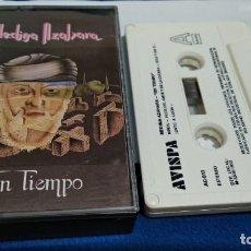 Casetes antiguos: CASETE CINTA CASSETTE ALBUM ( MEDINA AZAHARA - SIN TIEMPO ) 1992 AVISPA - TODO TIENE SU FIN. Lote 222183481