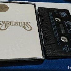 Casetes antiguos: CASETE CINTA CASSETTE ( CARPENTERS - GRANDES EXITOS ) 1992 A&M RECORDS. Lote 222183618