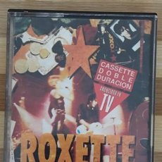 Casetes antiguos: ROXETTE - TOURISM. Lote 222330096