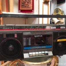 Casetes antiguos: RADIO CASETE CORVUS EN CAJA ORIGINAL NUEVO A ESTRENAR. Lote 222640038