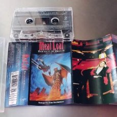 Casetes antiguos: MEAT LOAF-CASSETTE BAT OUT OF HELL II. Lote 222668958