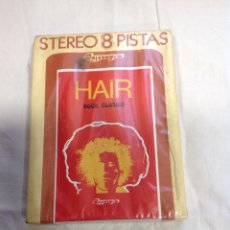 Casetes antiguos: HAIR ROCK CLASSIC-THE FAIRY ART GROUP. CARTUCHO ROCK CLÁSICO SIN ESTRENAR. Lote 222674951