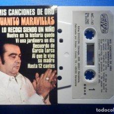 Cassette antiche: CINTA CASSETTE - JUANITO MARAVILLAS - MIS CANCIONES DE ORO - PERFIL 1985. Lote 222995148
