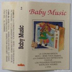 Casetes antiguos: BABY MUSIC LA CORONA MÁGICA MOFLI LOS PEQUEÑOS PICAPIEDRAS FOOFUR. Lote 223042930