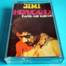 Cassettes Anciennes: CASETE : JIMI HENDRIX. BAND OF GYPSYS. ORIGINAL. AÑO 1983. Lote 223396843