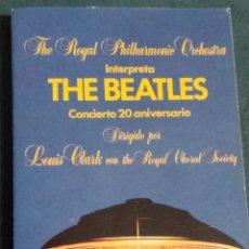 Casetes antiguos: THE BEATLES, CONCIERTO 20 ANIVERSARIO. Lote 223484961