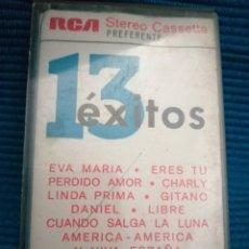Casetes antiguos: CASETE 13 ÉXITOS RUMBA, AÑOS 70. Lote 223560268