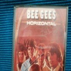"Casetes antiguos: CINTA BEE GEES ""HORIZONTAL"". Lote 224258472"