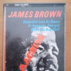 Casetes antiguos: JAMES BROWN - SEX MACHINE. Lote 224826797