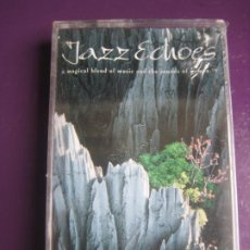 Cassettes Anciennes: JAZZ ECHOES - MAGICAL BLEND OF MUSIC AND NATURE - CASETE PRECINTADA - NEW AGE - ELECTRONICA. Lote 224876447